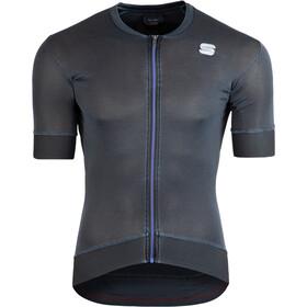 Sportful Monocrom Koszulka rowerowa z zamkiem błyskawicznym Mężczyźni, anthracite